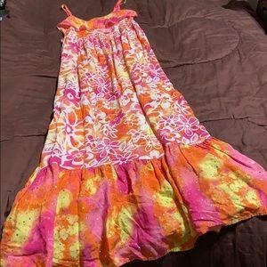 Girls Maxi Dress.